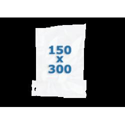 100 sachets gaufrés – 150*300