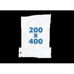 100 sachets gaufrés – 200*400