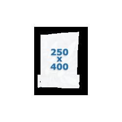 100 sachets gaufrés – 250*400