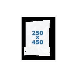 100 sachets gaufrés – 250*450